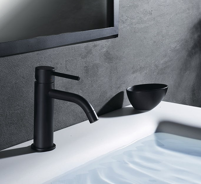 Mitigeur lavabo salle de bain Paffoni Light Exclusive Edition