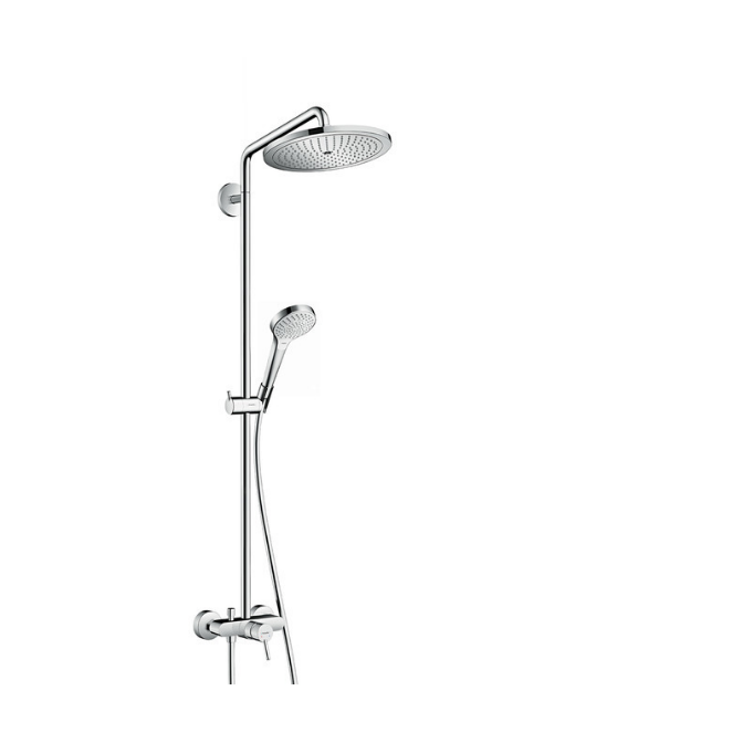 Hansgrohe Croma Select S Showerpipe Croma 280 1jet, mitigeur mécanique (26791000)