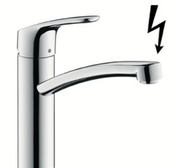 mitigeur basse pression hansgrohe