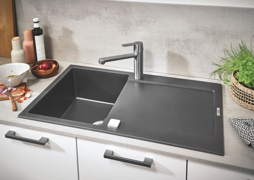 Evier Grohe 1 bac