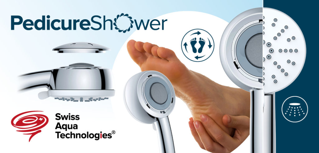 pedicure shower swiss aqua technologies